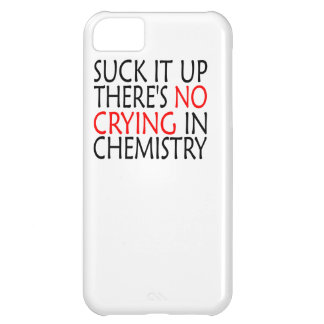 There's No Crying In Chemistry iPhone 5C Covers