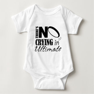 There's No crying in Ultimate Baby Bodysuit