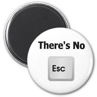 There's No Escape 2 Inch Round Magnet