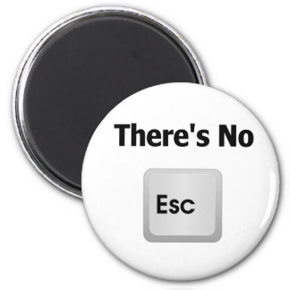 There's No Escape Fridge Magnet