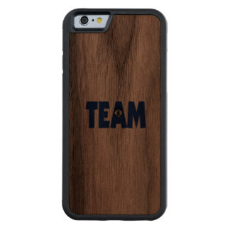 There's No Eye In Team Carved® Walnut iPhone 6 Bumper Case