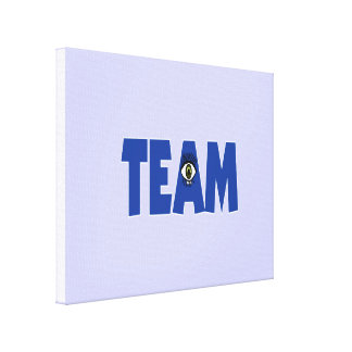 There's No I in Team Canvas Print