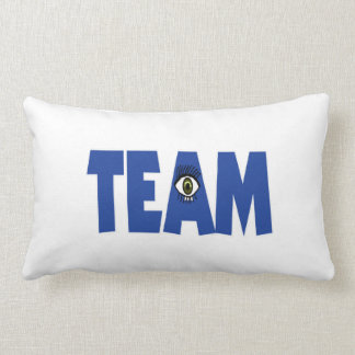 There's No I In Team Throw Pillow