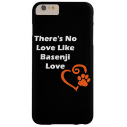 Case-Mate Barely There iPhone 6 Plus Case with Basenji Phone Cases design