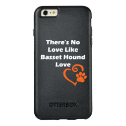 OtterBox Symmetry iPhone 6/6s Plus Case with Basset Hound Phone Cases design