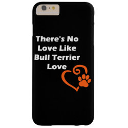 Case-Mate Barely There iPhone 6 Plus Case with Bull Terrier Phone Cases design