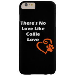 Case-Mate Barely There iPhone 6 Plus Case with Collie Phone Cases design