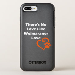 OtterBox Apple iPhone 7 Plus Symmetry Case with Weimaraner Phone Cases design