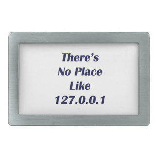 Theres No Place like 127001 Rectangular Belt Buckle