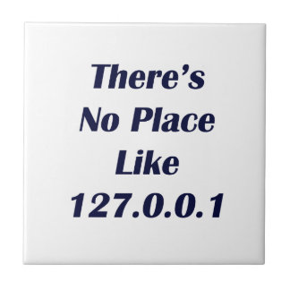 Theres No Place like 127001 Ceramic Tile