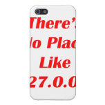 Theres No Place like 127001 red iPhone 5 Covers