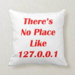 Theres No Place like 127001 red Pillows