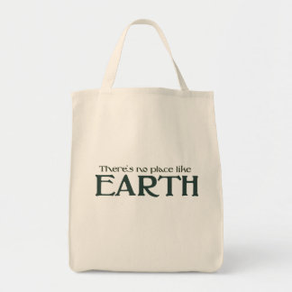 Theres no place like Earth Tote Bag