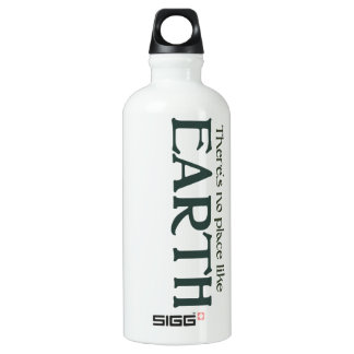 Theres no place like Earth Water Bottle