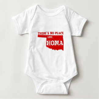 There's No Place Like Homa Oklahoma Baby Bodysuit