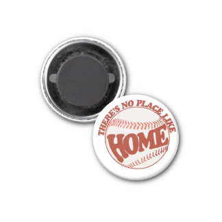 There's no place like home 1 inch round magnet
