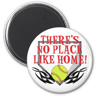 There's No Place Like Home! 2 Inch Round Magnet