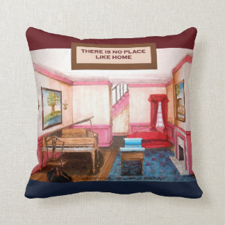There's No Place Like Home American MoJo Pillow