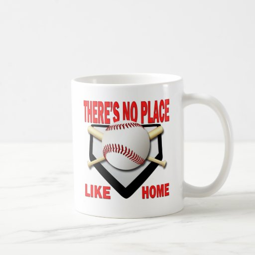THERE'S NO PLACE LIKE HOME COFFEE MUG