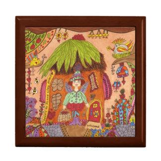 There's No Place Like Home Fairy Keepsake Box