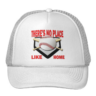THERE'S NO PLACE LIKE HOME TRUCKER HAT