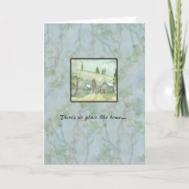 There's No Place Like Home House Warming Card