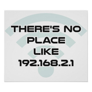 There's No Place Like Home IP Address Poster