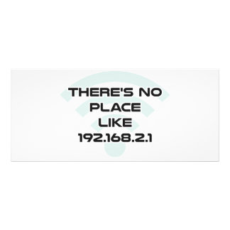 There's No Place Like Home IP Address Full Color Rack Card
