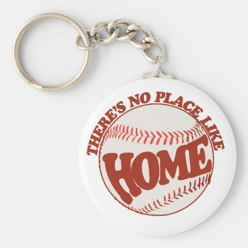 There's no place like home key chain