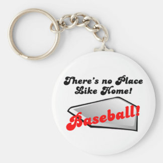 There's No Place Like Home! Basic Round Button Keychain
