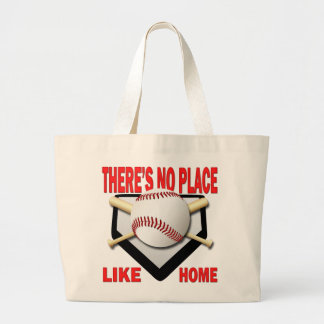 THERE'S NO PLACE LIKE HOME LARGE TOTE BAG