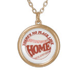 There's no place like home personalized necklace