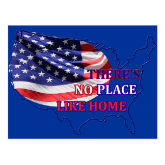 There's No Place Like Home Postcard