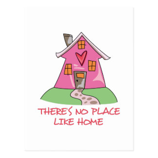 Theres No Place Like Home Postcard