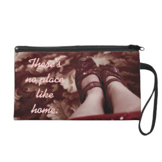 There's No Place Like Home Wristlet