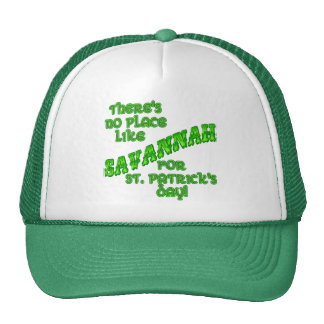 There's No Place Like Savannah on St. Pat's Day Mesh Hat