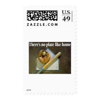 Theres No PLATE Like Home Postage