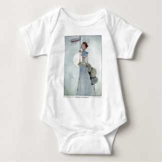 There's No Retreat Baby Bodysuit