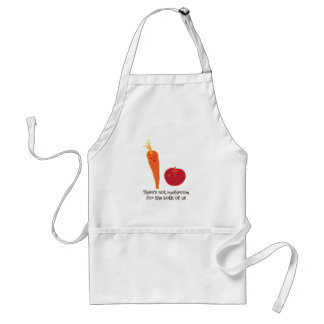Theres Not Mushroom Adult Apron