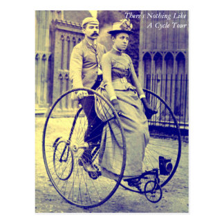 There's Nothing Like A Cycle Tour - Postcard