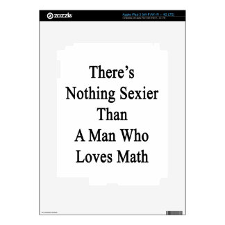 There's Nothing Sexier Than A Man Who Loves Math iPad 3 Skins