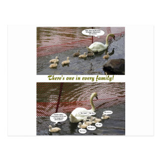 """""""There's One In Every Family!"""" Postcard"""