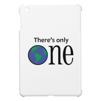 THERES ONLY ONE EARTH iPad MINI COVER