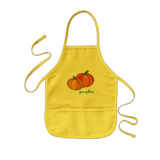 There's Pumpkins On My Apron! Kids' Apron