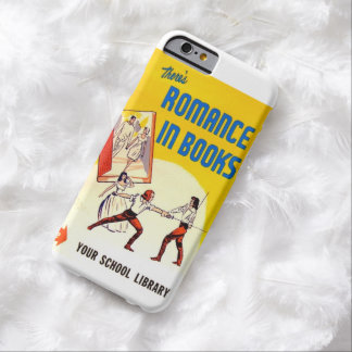 There's Romance in Books Vintage Ad iPhone 6 Case