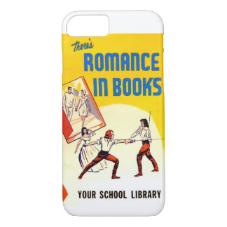 There's Romance in Books Vintage Ad iPhone 7 Case