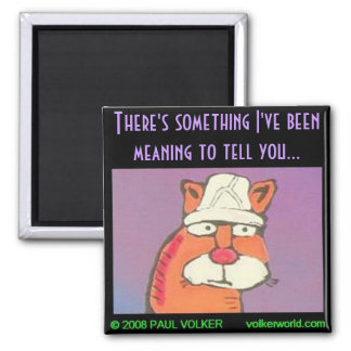 There's something...$3.00 2 inch square magnet