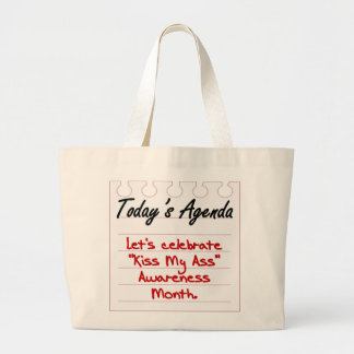There's Something That You Should Be Aware of Large Tote Bag