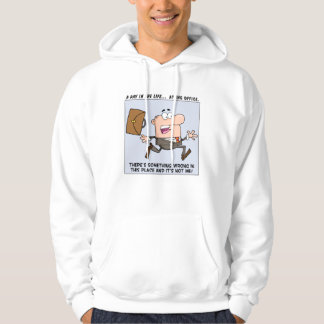There's Something Wrong with This Place Hooded Sweatshirt