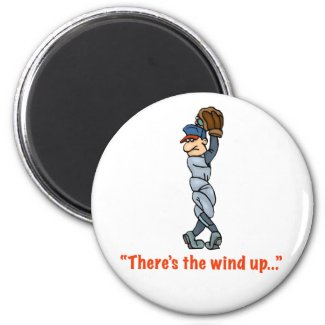 There's The Wind Up... Magnet magnet